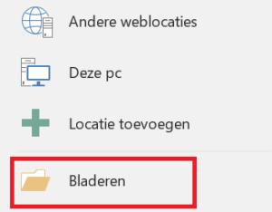 Office 2016: verschillende bestanden tegelijk openen